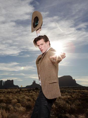 Matt Smith Dr. Who Portrait - P 2011