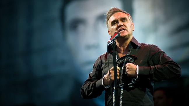 Morrissey Live Glastonbury Festival - H 2011