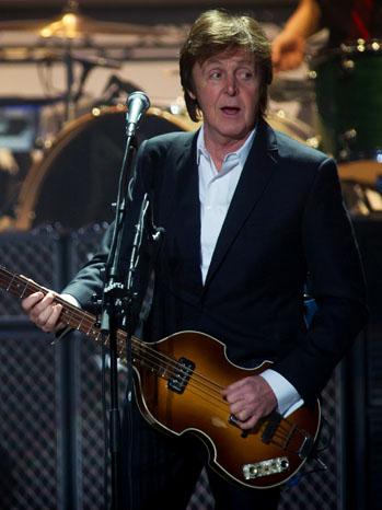 Paul McCartney Stage 2011