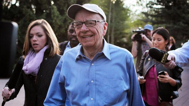 CEO News Corp Rupert Murdoch 2011
