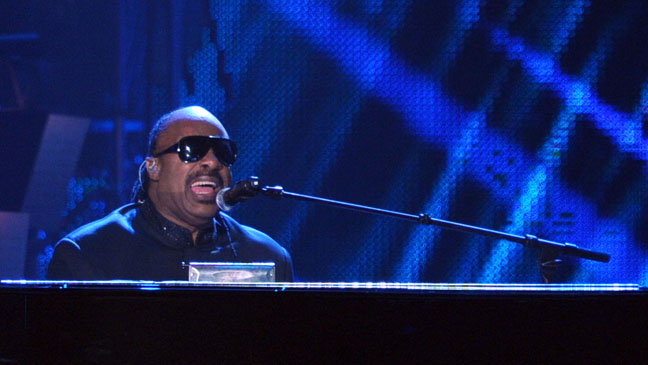 Stevie Wonder MusiCares Stage - H 2011