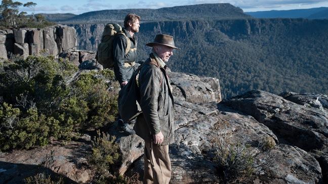 The Hunter - Movie Still: Willem Dafoe (L) and Sam Neill (r) - H - 2011