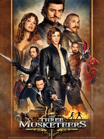 The Three Musketeers Poster 2011
