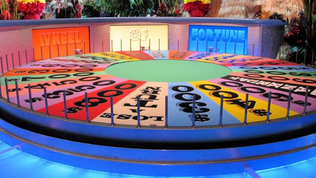 Wheel of Fortune Wheel 2011