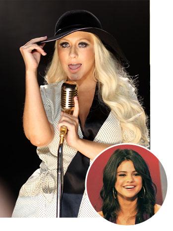 Christina Aguilera, Selena Gomez - SPLIT - P - 2011
