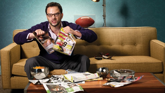 Nick Kroll - Pr Portrait - The League - H - 2011