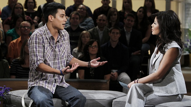 Big Brother - TV Still: Julie Chen speaks to Dominic - H - 2011