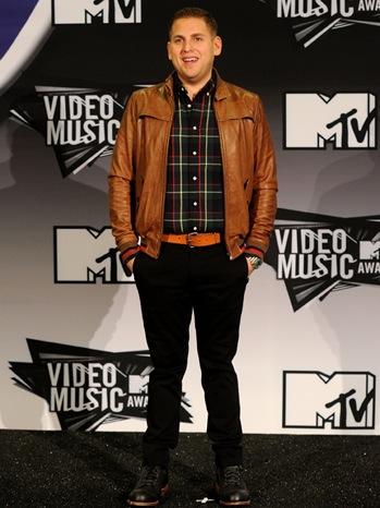 Jonah Hill - 2011 MTV Video Music Awards - Press Room - P - 2011