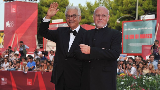 "Paolo Baratta; Marco Muller - ""The Ides Of March"" Premiere - 68th Venice Film Festival - H - 2011"