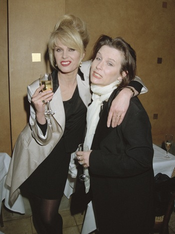 Joanna Lumley; Jennifer Saunders - Ab Fab Party - P - 1995
