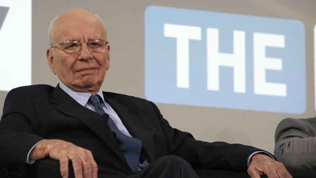 Rupert Murdoch - Portrait - H - 2011