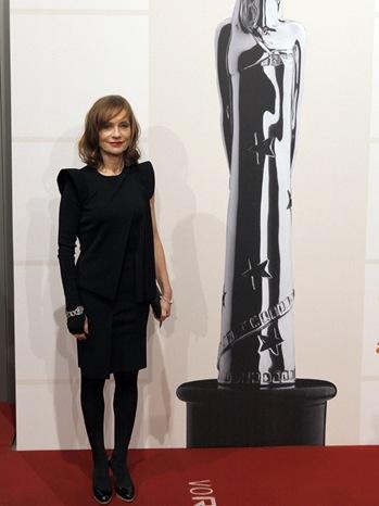 Isabelle Huppert - 22nd European Film Awards - P - 2009