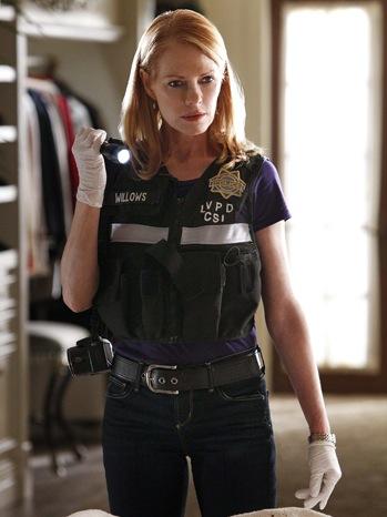 Marg Helgenberger - TV Still: CSI, Episode Sqweegel - P - 2011