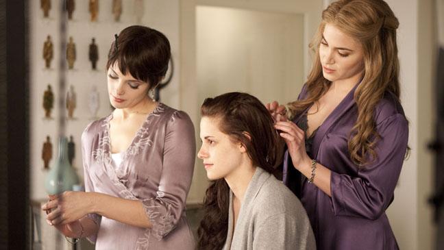 Ashley Greene, Kristen Stewart and Nikki Reed