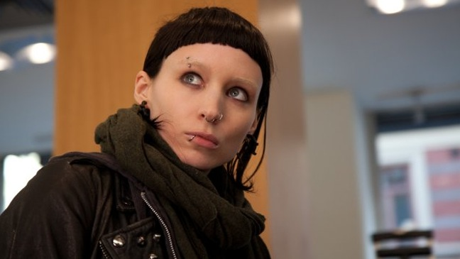 Rooney Mara - Movie Still: Girl With the Dragon Tattoo - H - 2011