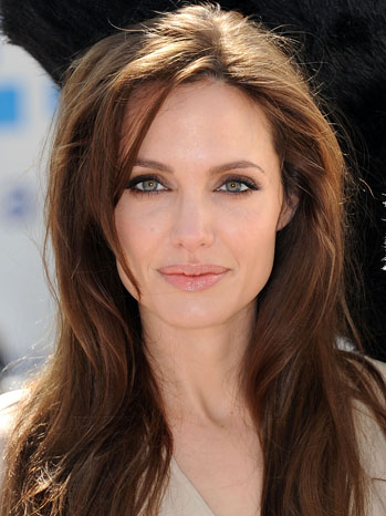Angelina Jolie Headshot - P 2011