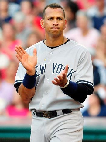 Alex Rodriguez - New York Yankees v Cleveland Indians - P - 2011