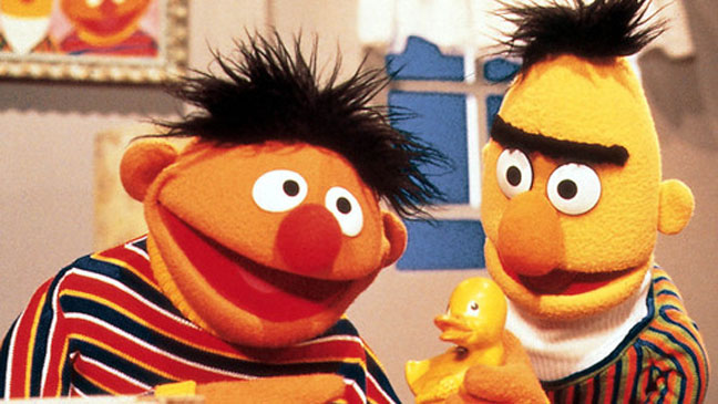 Bert and Ernie Sesame Street - H 2011