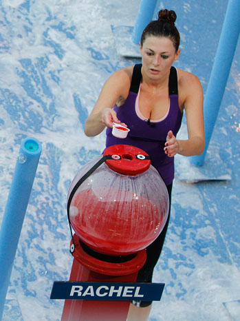 """Big Brother - TV Still: Rachel Reilly Rachel Reilly competed in the """"All Washed Up"""" Head of Household competition - P - 2011"""
