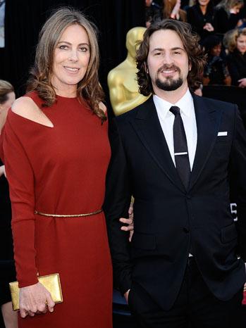 Kathryn Bigelow and Mark Boal Oscars - P 2011