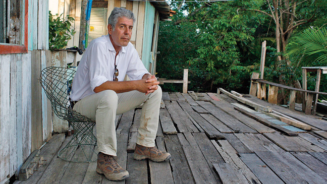 """Anthony Bourdain's No Reservations"""