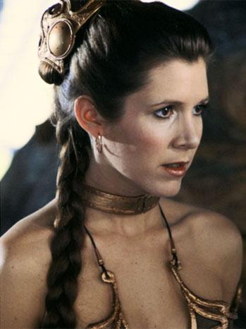 Carrie Fisher Princess Lea Return of the Jedi - P 2011