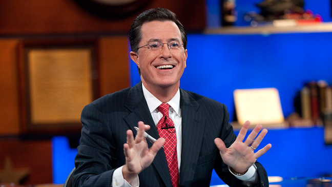 "LATE-NIGHT TV: ""The Colbert Report"""