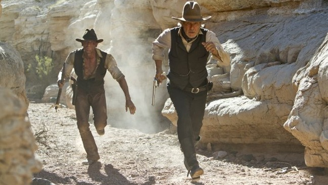Cowboys & Aliens - Movie Stills: Daniel Craig, Harrison Ford - H - 2011