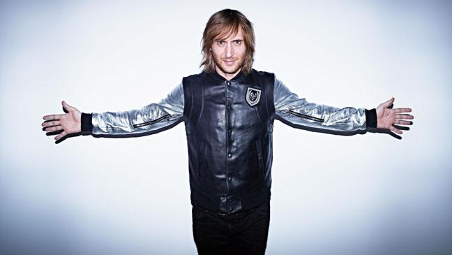 David Guetta Promo Arms Spread