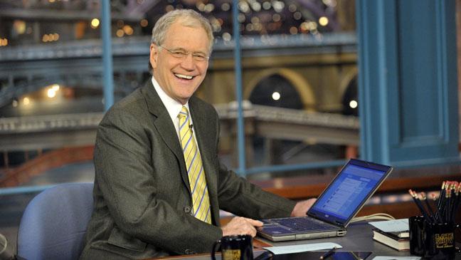 David Letterman Late Show Desk - H 2011