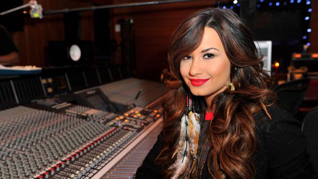 Demi Lovato Studio Portrait - H 2011