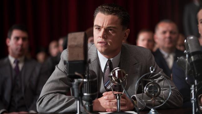 J. Edgar Film Still Leonardo DiCaprio -H 2011