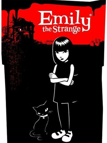 Emily the Strange Key Art - P 2011