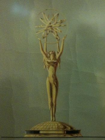 Emmy Statue - Vintage Photo - P