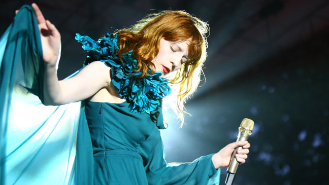Florence Welch and the Machine - H 2011