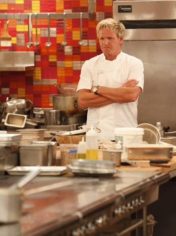 Hell's Kitchen - TV Still: Chef Ramsay - P - 2011