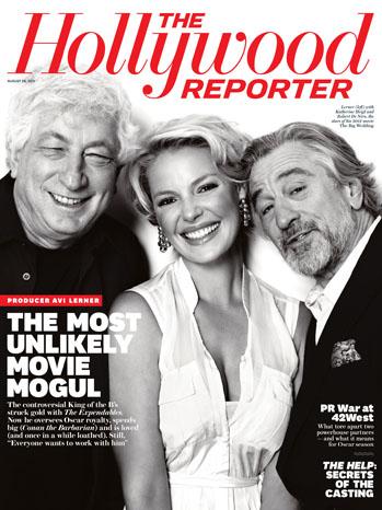 Issue 30 Cover Avi Lerner Katherine Heigl Robert De Niro
