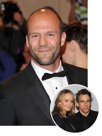 Jason Statham Ben and Christine Stiller Split - P 2011