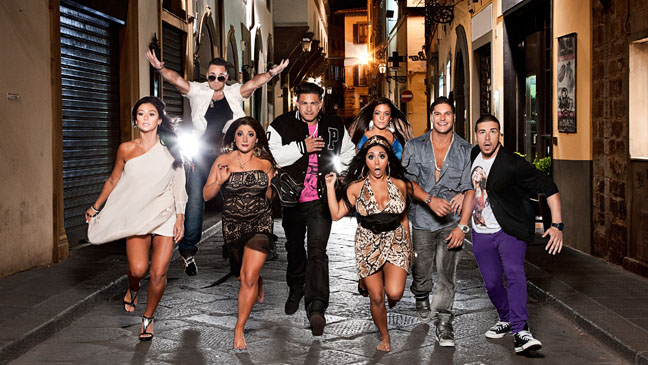 Jersey Shore The Cast Italy - H 2011