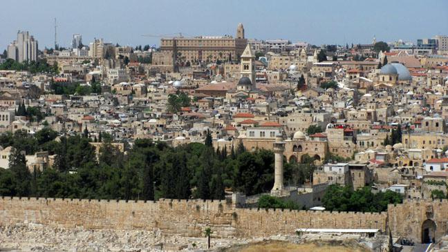 Jerusalem Landscape - H 2011
