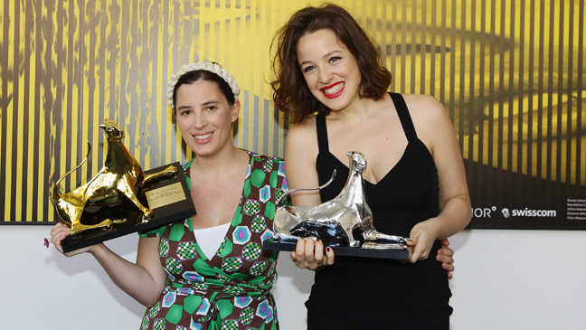 Milagros Mumenthaler and Maria Canale - Locarno- 2011