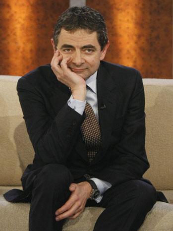Rowan Atkinson - during a broadcast - P - 2007