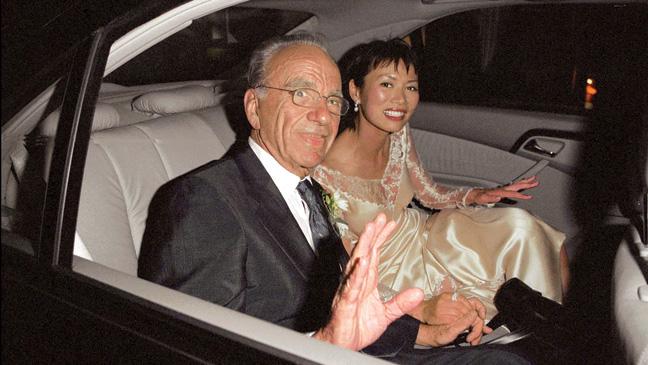Rupert Murdoch & Wendi Deng