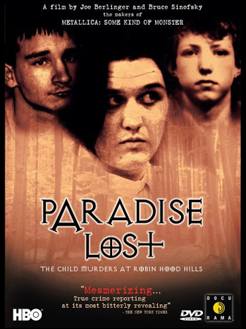 West Memphis 3 Paradise Lost DVD