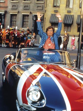 """Austin Powers: International Man of Mystery"""
