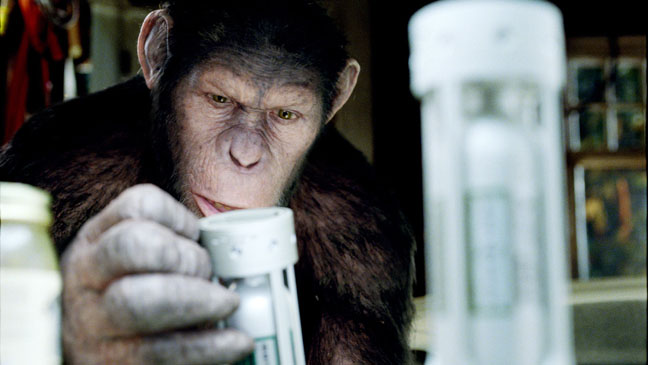 Rise of the Planet of the Apes Canisters - H 2011