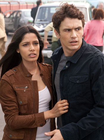 Rise of the Planet of the Apes Review James Franco Freida Pinto - P 2011