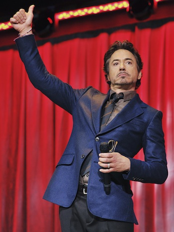 Robert Downey, Jr. - The Avengers - D23 - 2011