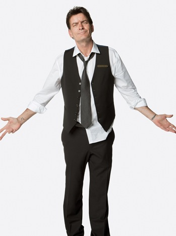 Charlie Sheen - Comedy Central Portrait Session - P - 2011