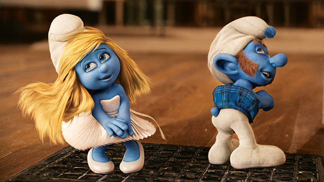 "FILM: ""The Smurfs"""